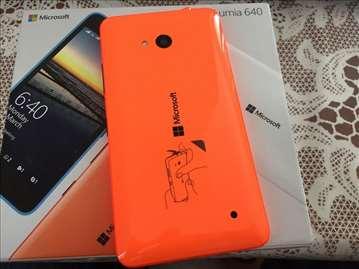 Mobilni telefon Microsoft lumia 640, dual, orange