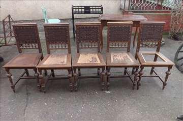 Stolice-5 komada