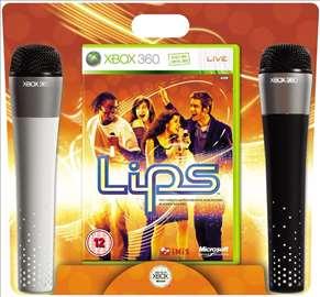 Lips Mikrofoni za Xbox 360 2komada bežični