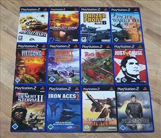 Playstation 2 igre - 12 komada