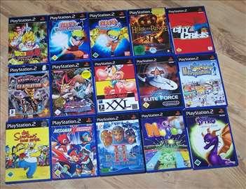 Playstation 2 igre 15komada
