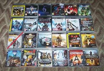 PlayStation 3 igrice 24 komada