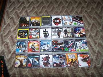 Sony Playstation 3 igrice 24 komada