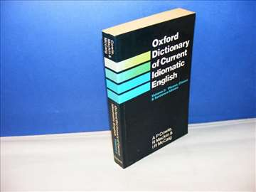 Oxford dictionary of current Idiomtic English