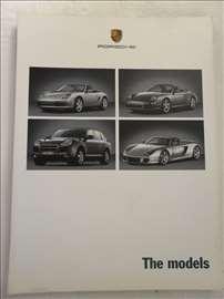 Prospekt Porsche Models, 60 str, 21 x 15,5 cm