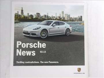 Prospekt Porsche News, 02/13,51 str, 21 x 21 cm
