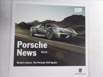 Prospekt Porsche News,03/13,51 str.,21 x 21 cm.