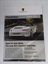 Prospekt Porsche News Winter 2011, 32 str.21 x 15