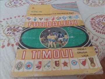Fudbaleri i timovi 1975-76 1 i 2 liga