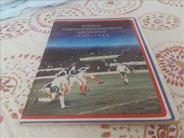Istorija fudbalske reprezentacije  1920-1983