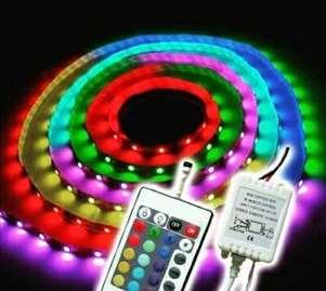 LED RGB traka 5 m sa kompletom!