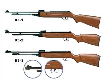 Vazdušna puška B3 Grizly 5,5mm novo poklon optika