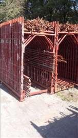 Ramovska skela i gazišta pocinkovana