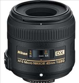 Objektiv Nikon 40/F28 AF-S G DX Micro