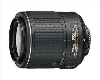Objektiv Nikon 55-200 / 4-56 AF-S ED VR DX