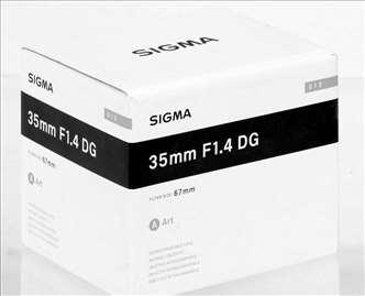 Objektiv Sigma Canon 35/14 (A) DG HSM Art
