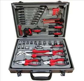 Set ručnog alata u koferu-62 dela, novo
