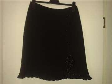 Crna svečana suknja  br.40