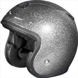 AGV RP60 Open Face Helmet - Metal Flake, size M.