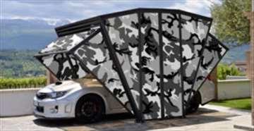 Novi koncept garaže za vaš auto i motocikl
