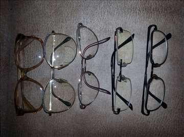 Prodaju se naočare za vid raznih oblika i dio