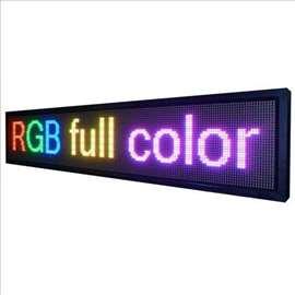 LED kolor displej