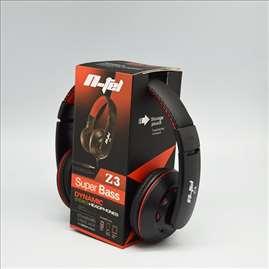 Slušalice N-tel Z3, crno-crvene