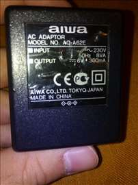 Aiwa adapter 6V 300mA