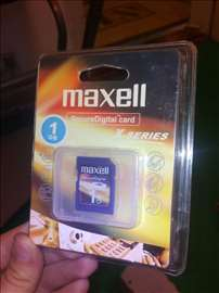 Maxell X series SD 1GB