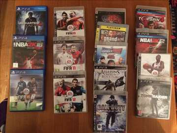 Igrice za PS4 i PS3
