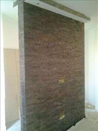 Postavljanje podnih i zidnih obloga