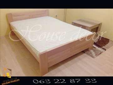 Bračni krevet Ena natur 160x190/200