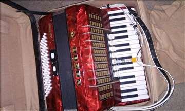 Harmonika Delicia - 80 basova
