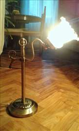 Stara art-deko lampa mesing