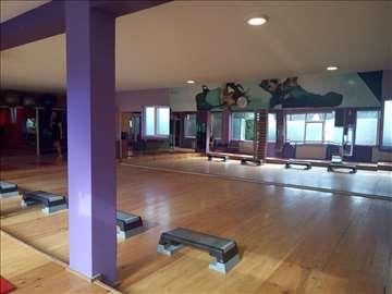 Izdavanje termina u sali Gymnas fitness Novi Sad