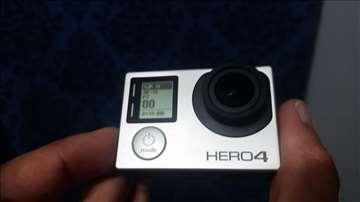 GoPro Hero4 Black Edition, 64gb, stik, 6 baterija