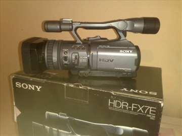 Sony hdr fx7 hdv