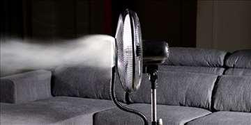 Kućni ventilator sa vodenim raspršivačem