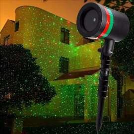 Laserski projektor zvezda za 600m2
