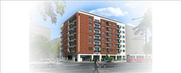 Bulevar, novogradnja,  3.0 stan - 64 m2