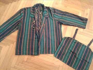 Šareni komplet sako i bluza