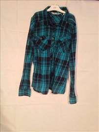 H&M plava košuljica za devojčice