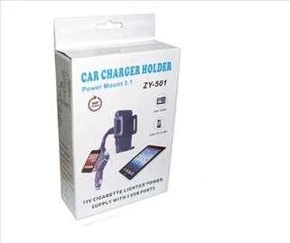 Auto nosači+punjač za mobilne telefone
