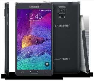 Flet Samsung Note 4 sa home tasterom belim