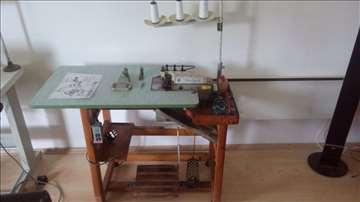 Industrijska šivaća mašina endlarica, sa 3 konca