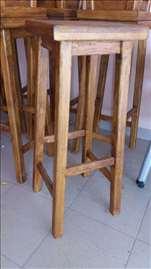 Barske stolice hrastovo drvo