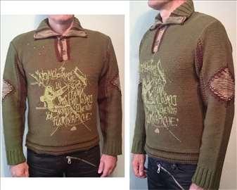 D&A originals, vuneni džemper, polovno, vel. M