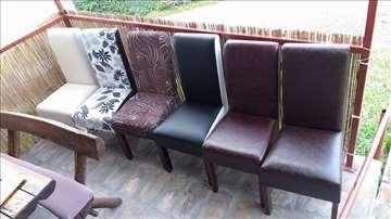 Veliki izbor novih tprezarijskih stolica i stolova