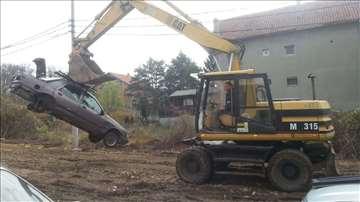 Iskop za stambene i poslovne objekte Kiper-prevoz