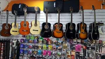 Veliki izbor akustičnih gitara